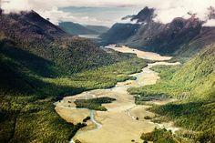 New Zealand Valleys on Behance
