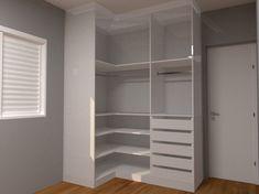 Bedroom Cupboard Designs, Bedroom Closet Design, Home Room Design, Closet Designs, Bedroom Cupboards, Corner Wardrobe Closet, Bedroom Wardrobe, Closet Renovation, Closet Layout