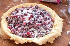 Cranberry Pie by Savour Fare, via Flickr