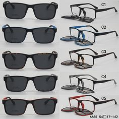 cea2ef84fb4e 16 New Glasses with Clip On Sunglasses Inspirations - Glasses With Clip On  Sunglasses, New