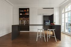 * Kitchen inspiration * brought to you by All-In Living  Invisible Kitchen by i29 Architects