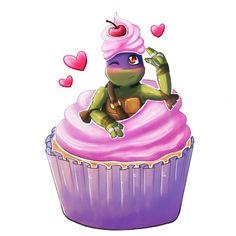 Cupcake Donnie by SpringSunshower.deviantart.com on @deviantART