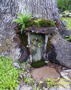 garten baum Best Cost-Free fairy garden doors Suggestions There is certainly num. - garten baum Best Cost-Free fairy garden doors Suggestions There is certainly numerous amazing fairy - Fairy Tree Houses, Fairy Garden Houses, Gnome Garden, Garden Trees, Fairy Village, Meadow Garden, Fairy Garden Doors, Fairy Doors On Trees, Diy Fairy Door
