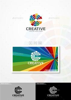 Creative  Logo Design Template Vector #logotype Download it here: http://graphicriver.net/item/creative-logo/11022496?s_rank=1093?ref=nexion