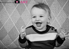 Studio Picture, 9-month old baby boy
