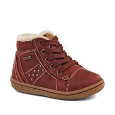 Ghete imblanite pentru fete, marca Geox. Fall Winter, Autumn, Bordeaux, High Tops, High Top Sneakers, Wedges, Shoes, Fashion, Shoes For Girls