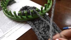Loom Knit Basic Bind Off Flat Panel
