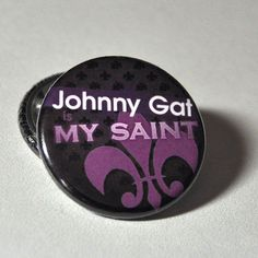 Items similar to Johnny Gat Is My Saint Button on Etsy Stripper Poles, We Happy Few, Third Street, Saints Row, Chaotic Neutral, Body Mods, Happy Life, Kai, The Row