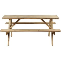 Picknick tafel Naturel