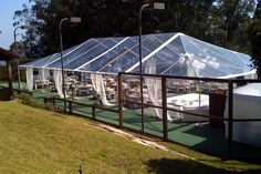 ummm -- in my other dreams :-) tented tennis court