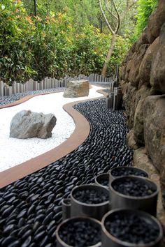 Zen Garden // Solistone Mona Standing Pebbles
