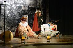 """Un momento dello spettacolo Il Trionfo del Carnevale 2015. Dall'episodio: """"I maccheroni""""."""