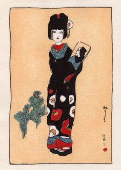 Takehisa Yumeji, pines