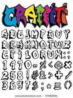 graffti+faunts | Graffiti alphabet a z art Alphabet graffiti you can download it font