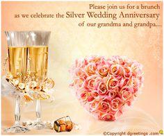 Dgreetings - 25th Anniversary Invitations Cards