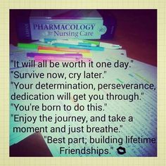 Julie's idea of surviving nursing school. SJSON 2016! ♥