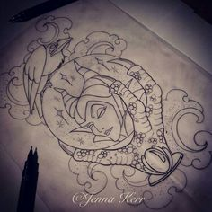 Now that you are certain that you want to get inked, the next thing for you to do would be to get a tattoo design that you will be proud of and won't regret. Maleficent Tattoo, Leg Tattoos, Body Art Tattoos, Sleeve Tattoos, Tatoos, Hp Tattoo, Arrow Tattoos, Tattoo Small, Tattoo Flash