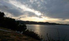 Sun rising, Paguera