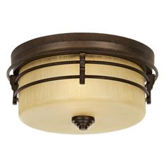 "Arroyo Park 14"" Wide Indoor - Outdoor Ceiling Light -"