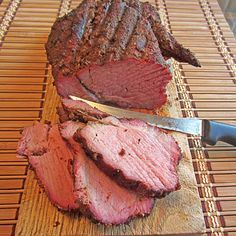 I saw beef tenderloin on sale for a great price and just had to pick one up. I cut off half of it to slow smoke it with mesquite wood and a heavy rub for some tender and juicy sliced tenderloin. T...