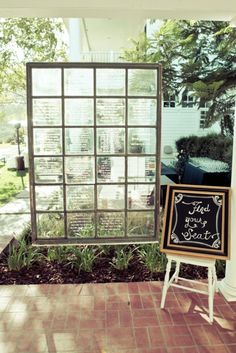 Window Table Seating Display | Romantic Wedding | Lovelyfest Event Design | San Luis Obispo, California Wedding