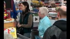 For many Americans, food stamps are the only option. But what would you do if you saw a woman struggling to put food on her table?