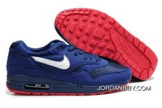 http://www.jordanbuy.com/the-nike-air-max-1-mens-running-shoe-navy-whiteuniversity-red-with-stylish-design.html THE NIKE AIR MAX 1 MENS RUNNING SHOE NAVY/WHITE-UNIVERSITY RED WITH STYLISH DESIGN Only $85.00 , Free Shipping!