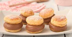 I bignè di sfoglia dolci mascarpone e Nutella sono dei dolcetti fantastici da fare in pochissimi minuti, sono cremosissimi e super golosi!
