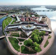 Petropavlovskaya Krepost / Peter and Paul Fortress ~ Saint Peterburg, Russia.