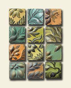 Botanical II: Natalie Blake: Ceramic Wall Art - Artful Home