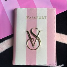 Buy this Victoria's Secret Pink Stripe Passport Cover from Top rated seller. You will have Free worldwide shipping on this item. You may also like the similar items on the link. Go to shop and check it out !