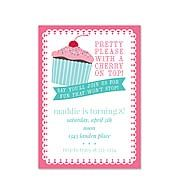 cupcake party invitation Product Number:120513