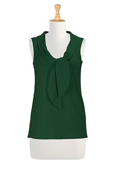 eShakti maritime tee, bottle green - jeans not skirts, Hampton capri