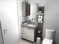 banheiros pequenos planejados - Google Search