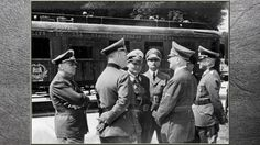3RD REICH LDR 22 Jun 40 following Battle of France, French officials were forced to sign the Second Compiègne Armistice. Hitler deliberately chose Compiègne the loc where Germany signed  1918 Armistice