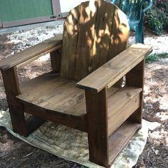 DIY patio chairs.