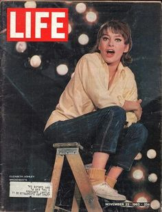 Actress Elizabeth Ashley, November 1963 Photographic Print by . Magazine L, History Magazine, Life Magazine, Magazine Front Cover, Magazine Covers, Love Vintage, Life Cover, Ashley S, Old Magazines