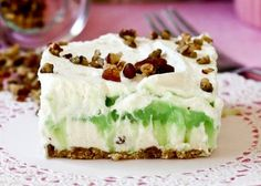 Pistachio Pudding Layer Dessert