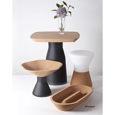 "2,056 Beğenme, 8 Yorum - Instagram'da Prodeez l Product Design (@prodeez): ""Plug Series by Tomas Kral. #furniture #tableware #table #creative #design #ideas #designer…"""