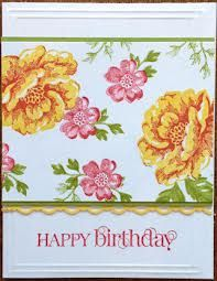 stampin up stippled blossoms card ideas - Google Search