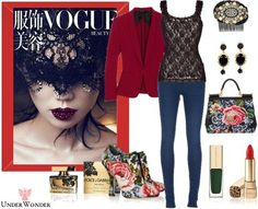 UnderWonder's stylebook at ShopStyle: CASAH #158 : DOLCE & GABBANA Tapestry and leather ankle boots