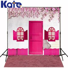 Find More Background Information about 300CM*200CM(about 10ft*6.5ft) backgrounds Petunia pink fence wall plaster doors photography backdrops photo LK 1196,High Quality backdrop prices,China backdrop support Suppliers, Cheap photo mp4 from Art photography Background on Aliexpress.com