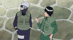 <3 Kakashi & Gai - The Race: Gai versus Kakashi
