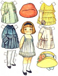 Campbell's Paper Dolls (?) - I loved playing with paper dolls!
