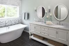 master bathroom renovation double sink - Google Search