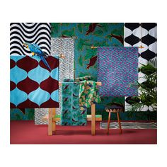 TILLFÄLLE Pre-cut fabric, assorted patterns