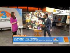 WeMontage's removable photo wallpaper featured on Mario Armstrong's Top 3 Cool Tech segment. Wallpaper Awesome, Photo Wallpaper, Digital Photography, Amazing Photography, Great Inventions, Rule Of Thirds, Powershot, Cool Tech, Today Show