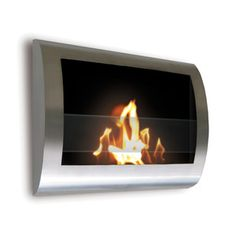 Based in New York, Anywhere Fireplace designs contemporary ethanol fireplaces. With wall-mountable, free-standing and small tabletop hearths—and even outdoor torches—this company has a design for any space. And best of all, these clean-burning, ventless fireplaces require no chimney and make no mess.  Chelsea Indoor Fireplace Steel now featured on Fab.