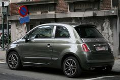Fiat 500 gotta say, it's a damn chic, stylish lil carrrrrr!