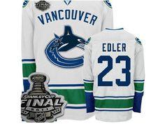 Vancouver CANUCKS 23 Alexander Edler Road Jersey